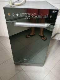 Título do anúncio: Lava Louças Brastemp Slim Prata Espelhada - Top !