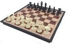 Jogos de Xadrez Tabuleiro Magnético, Dobrável