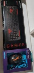Teclado e mouse gamer(preço negociável)