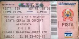 Título do anúncio: Ingresso Show Rush 2002 - Vapor Trails Tour - Maracanã
