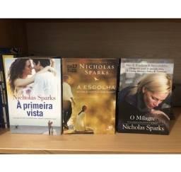 Combo Nicholas Sparks - 3 livros - usados