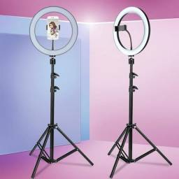 Ring Light 26cm GRANDE Com tripe de 2 metros
