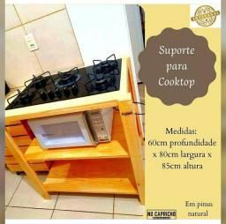 Título do anúncio: Suporte para Cooktop em Pinus