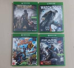 Título do anúncio: Jogos Xbox One - leia descrição.