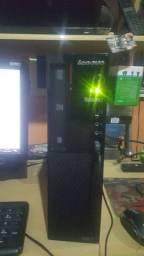 Computador lenovo thinkcenter  processador i3 terceira garação 4gb HD500gb com monitor