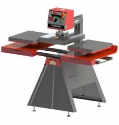 Prensa de sublimação 40x50 mesa dupla marca tucano semi-nova. Monofásico