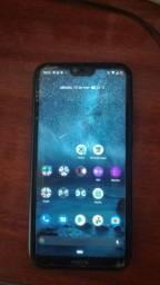 Nokia x6.1 plus troco ou vendo