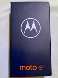 Título do anúncio: Smartphone Motorola E7