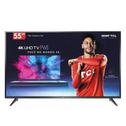 Tv Tcl smart 55 polegadas 4 k