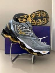Tenis Masculino Mizuno Pro8 Conforto Garantido Esporte Academia Caminhada Fitness