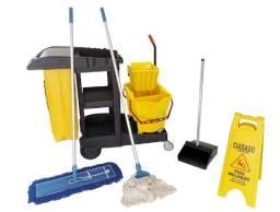 Título do anúncio: Kit completo carrinho de limpeza