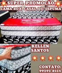 Título do anúncio: Cama Casal + 2 Travesseiros De Brinde $