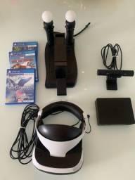 Título do anúncio: PlayStation VR completo