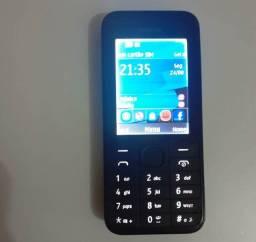 Celular Nokia 208.4 1 Chip seminovo Desbloqueado Tim Claro e Oi