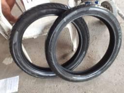 Título do anúncio: Vendo pneus usado Fan 150