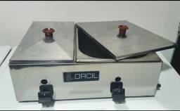 Molheira a gás Orcil 2 cubas