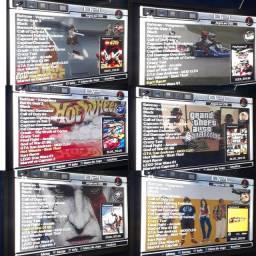 Play 2 com vários jogos no pendrive