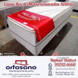 Título do anúncio: & Cama cama Solteiro - promoçao entrega gratis