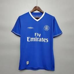 Camisa Retrô Chelsea 2004-05 Home