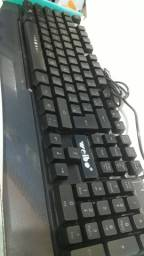 Teclado usb gamer