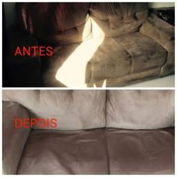 Limpeza do seu sofá