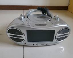 Título do anúncio: Radio Dvd Karaoke video player Gotec