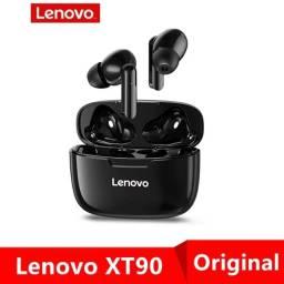Título do anúncio: Fone de Ouvido TWS Lenovo Xt90 Original Bluetooth 5.0 Preto