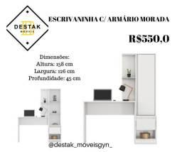 Título do anúncio: Destak Móveis- 086FL ESCRIVANINHA MORADA