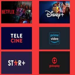Título do anúncio: Netflix Star+ Globopplay premiere e etc.