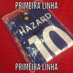 Camisa Chelsea Home 17 18 - Jogador Nike Masculina - azul 8b2c44ec83d08