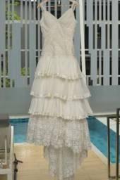Vestido de Noiva Boho Chique