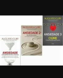 E-book kit de livros Ansiedade 1, 2, e 3 de Augusto Cury