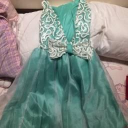 Vestido princesinha