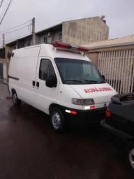 Ducato ambulância em peças - 2000
