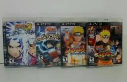 Coleção completa Naruto Storm PS3