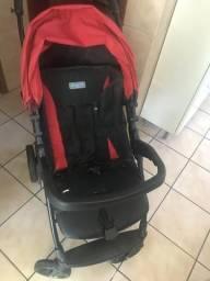 Extra Extra !!! Carrinho, moisses acoplado no carrinho e bebê conforto da Burigoto