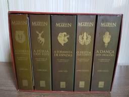 Box Livros Game of Thrones