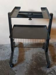 Mesa de ferro preta