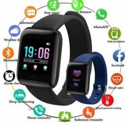 SmartWatch Relógio Pulseira Inteligente para Android e Iphone-Passo Cartão