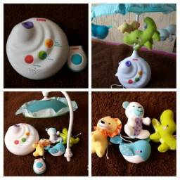 Mobile Projetor Bichinhos Fisher Price