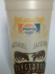 Copo Pepsi anos 90- Michael Jackson Dangerous World Tour