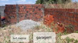 Vendo terreno com início de alvenaria de uma casa