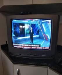 """TV LG 14"""" com controle"""