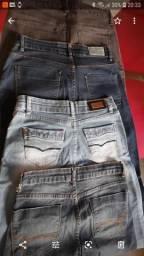 Calças Jeans fem. 36/38