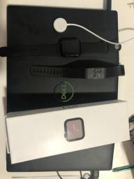 Watch série 4/44mm + Bracelete Fir Power Nippontflex