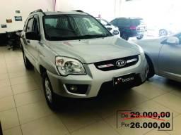 Kia Motors Sportage LX 2.0 Prata - 2009