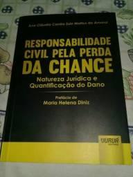 Livro Direito, responsabilidade civil pela perda da chance