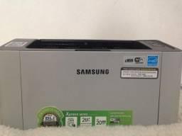 Impressora Samsung Xpress M2020w NOVA (Econômica de Verdade)