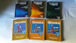 Livros de Quimica e Física