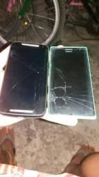 Vendo ou troco por algum do meu interesse Moto g2 e Nokia lumia 730